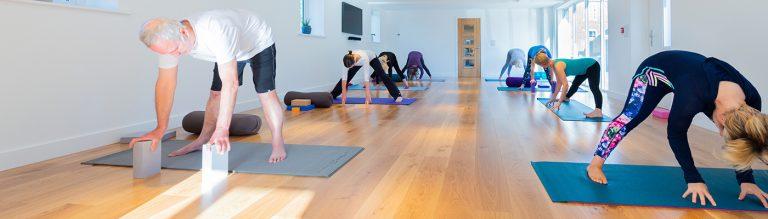 Live yoga classes-Shropshire