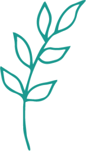 Green leaflet illustration